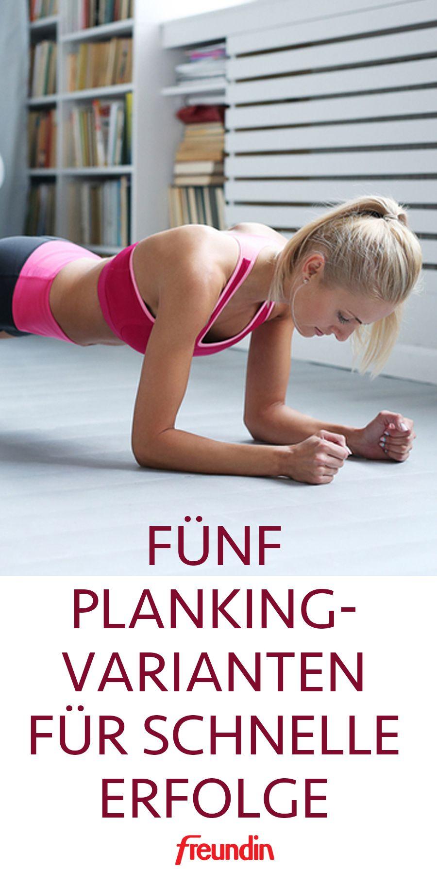 5 Planking-Varianten für schnelle Erfolge
