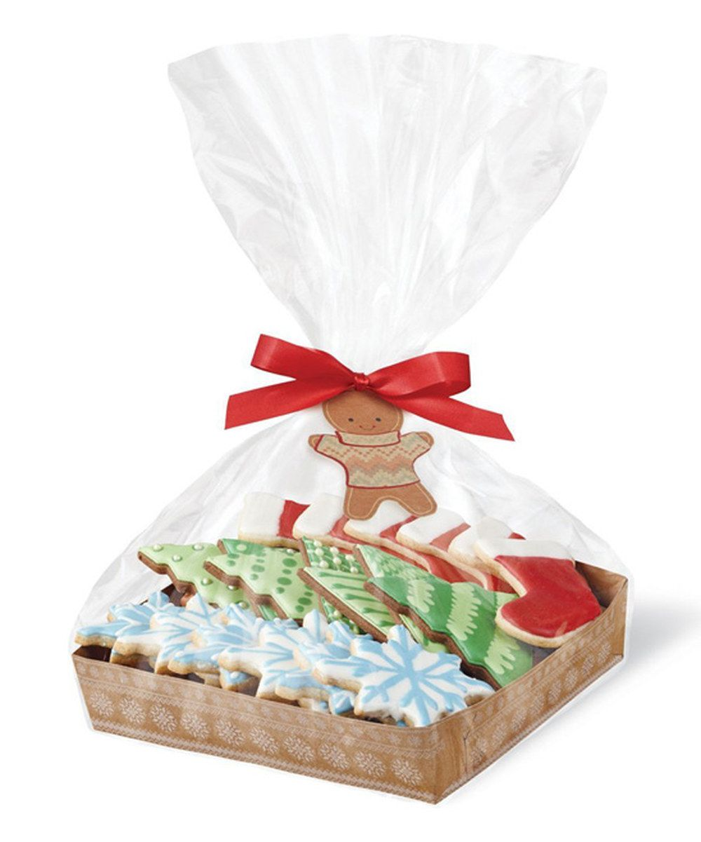 Look at this Cookie Tray & Bag - Set of 12 on #zulily today!
