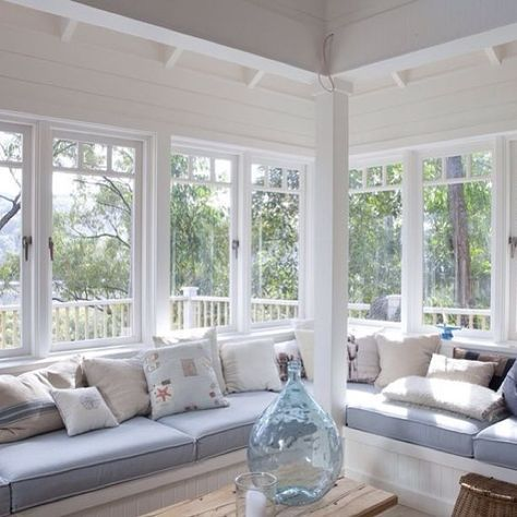 Pin By Persa Kyrtopoulou On Decoration Window Seats Cottage Renovation Corner Window Seats House Essentials