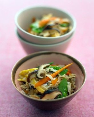 """See the """"Shiitake Fried Rice"""" in our Quick Rice and Grain Recipes gallery"""