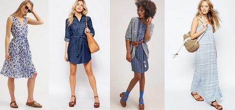 Blaues kleid kombinieren (mit Bildern) | Blaue schuhe ...