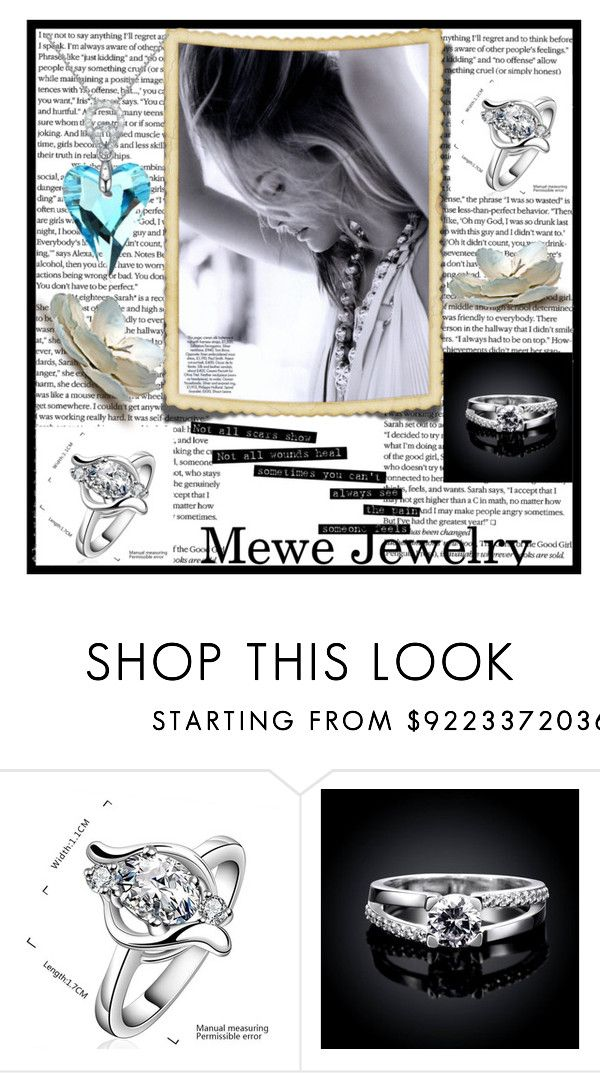 """Mewe Jewelry 8"" by ramizarotic liked on Polyvore (With"