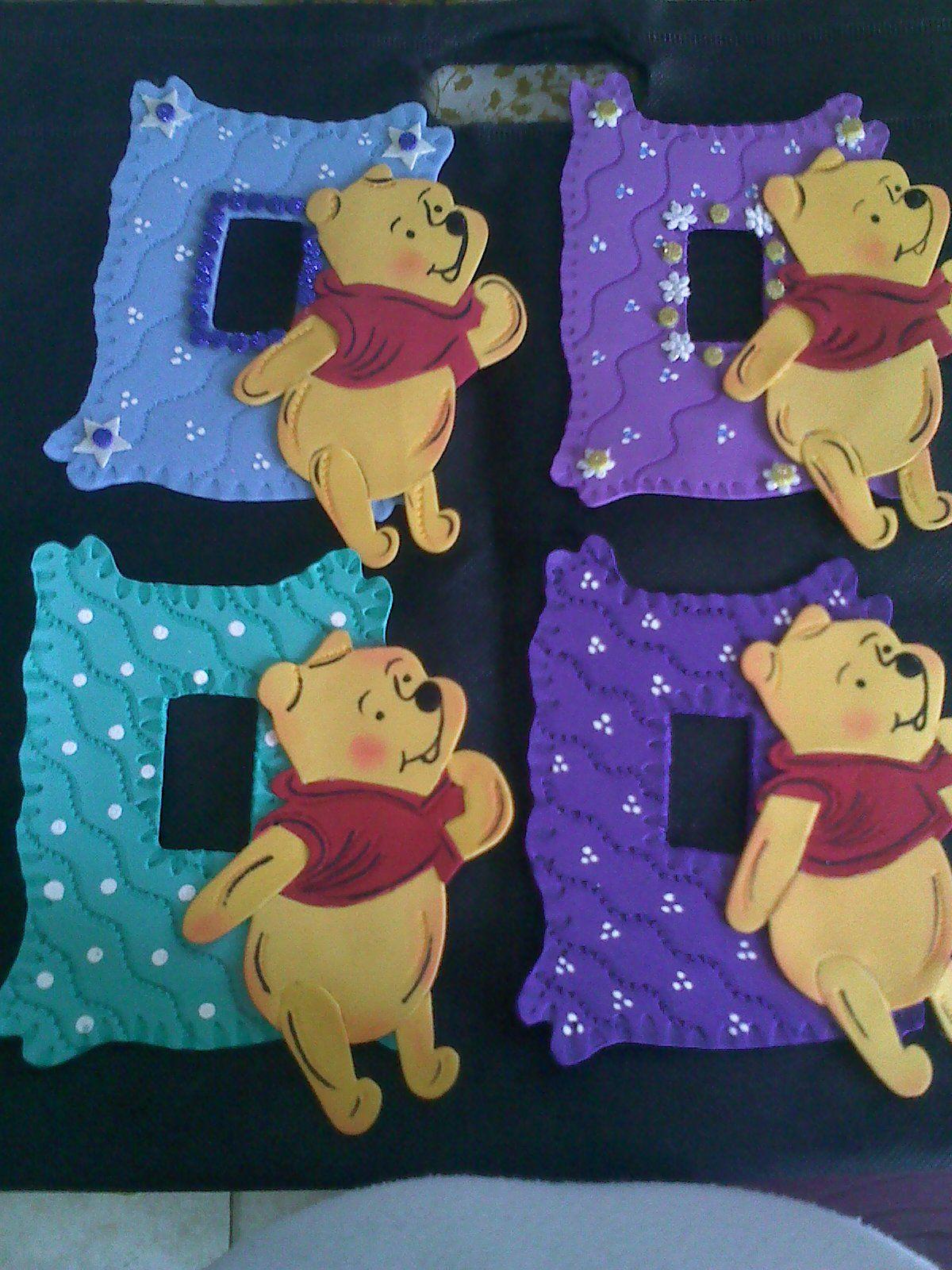 Para decorar los swiches de los cuartos de winnie pooh for Cuarto winnie pooh