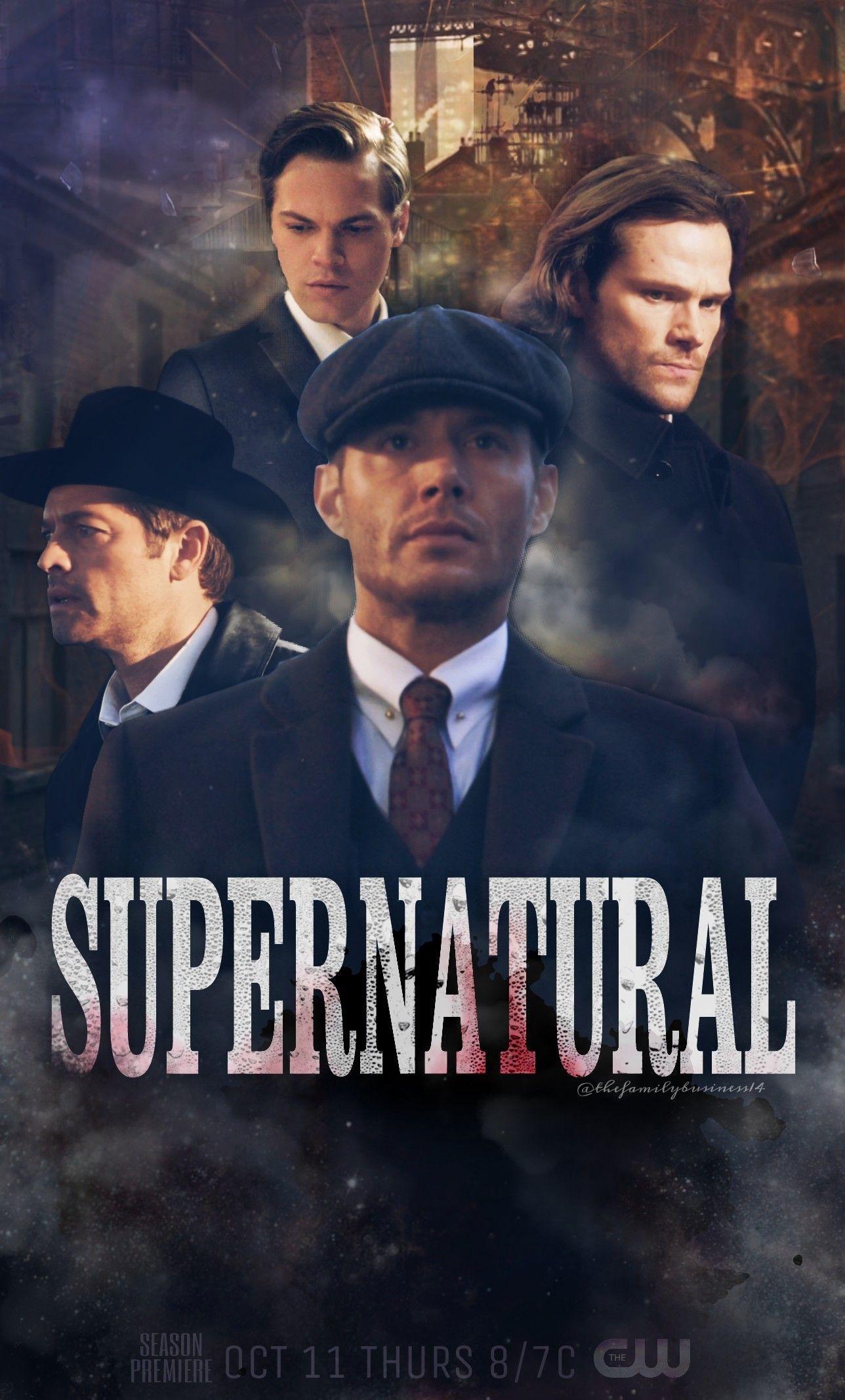 My Poster For Spn Season 14 Supernatural Spn Spnedit