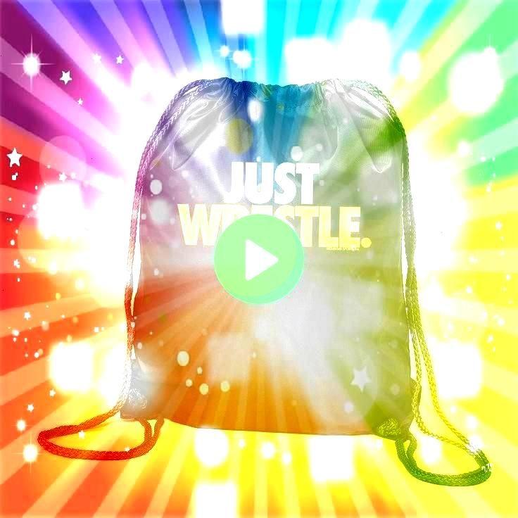 Just Wrestle Black Cinch Sack Sport Pack  Wrestling Gift I Wrestling Drawstring Backpack  Just Wrestle Black Cinch Sack Sport Pack  Wrestling Gift Ideas  Wrestler Lifest...