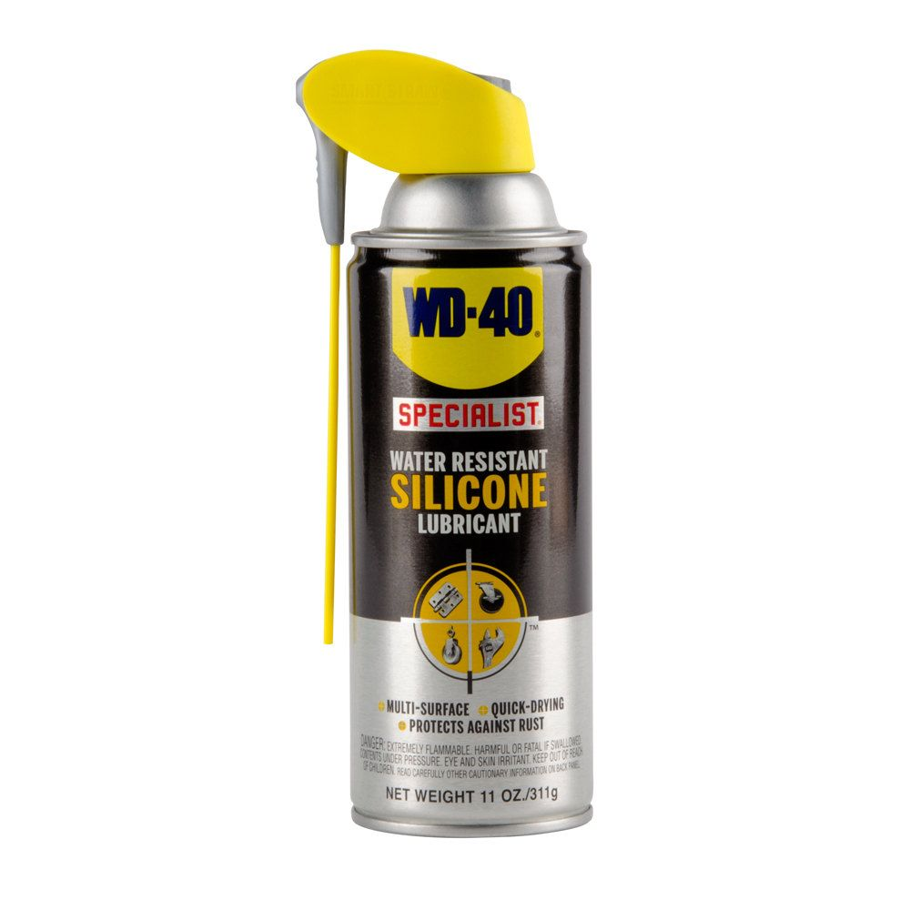 Wd 40 300012 Specialist 11 Oz Water Resistant Silicone Lubricant Spray With Smart Straw Silicone Lubricant Wd 40 Water Resistant