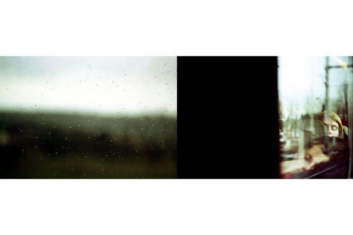 En train de rêver: By Sophie Gotti, more artworks http://www.artlimited.net/25 #Photography #Transportation