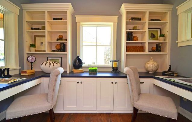 Cool Home Office Decors Home Interior Design Ideas Home Decorating Ideas Office Space