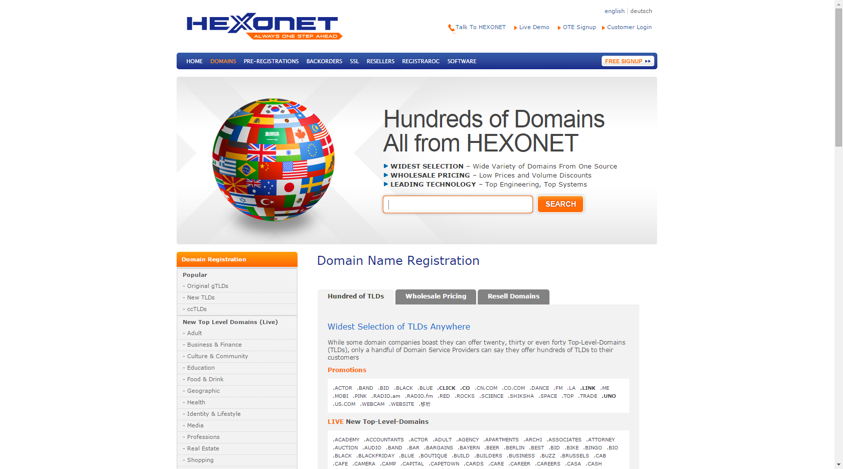 Domain Name Registration Names Domain Buy Domain