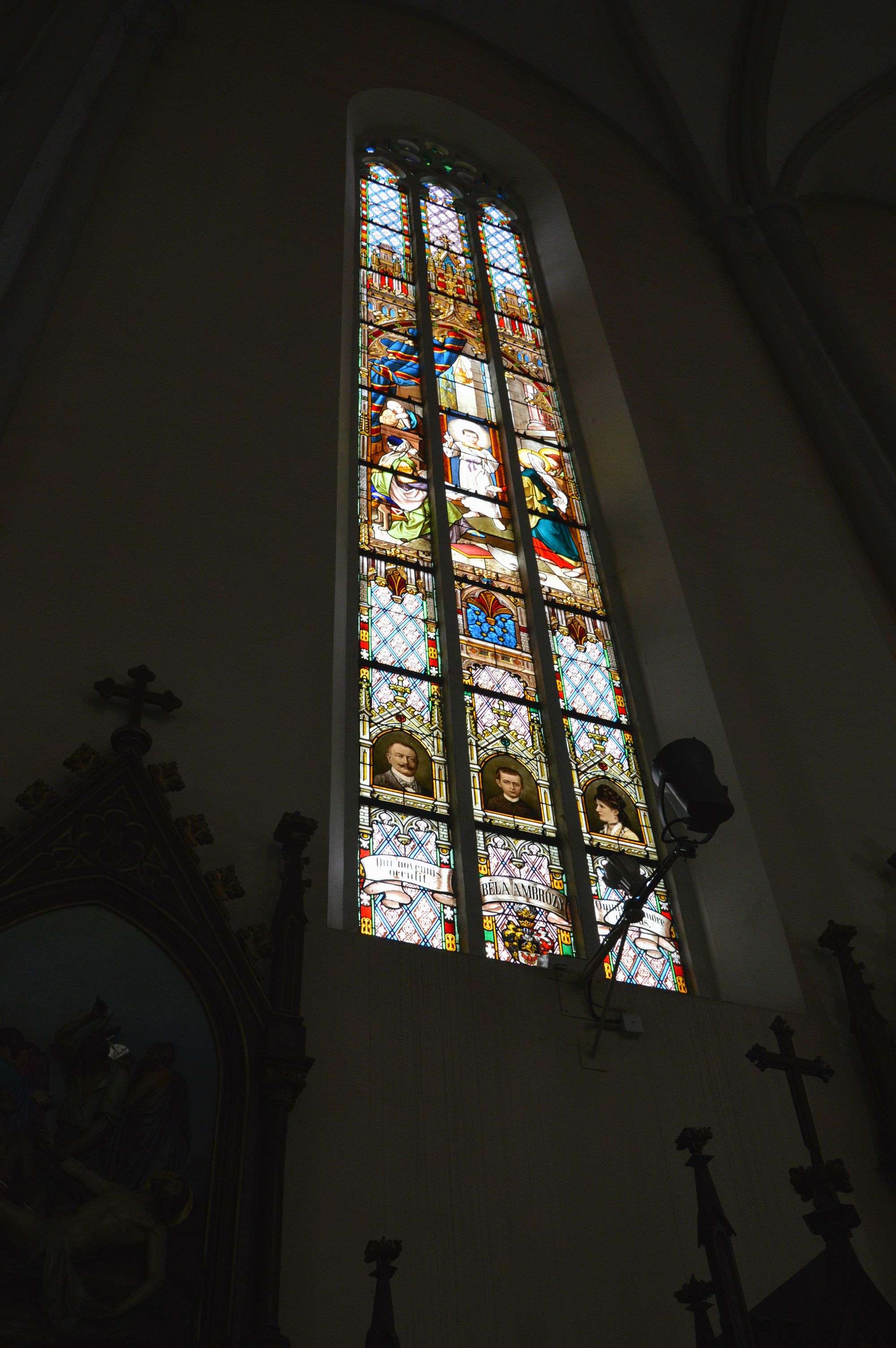 Витражи собора Девы Марии
