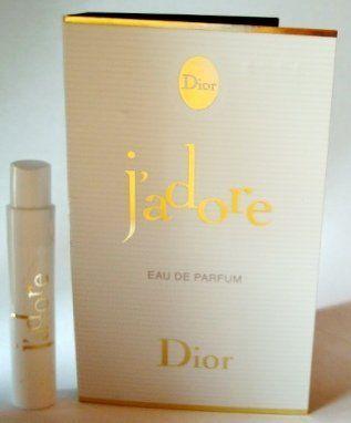 75919ca4 J'adore Christian Dior .03 oz / 1 ml edp Vial Spray Sampler by ...