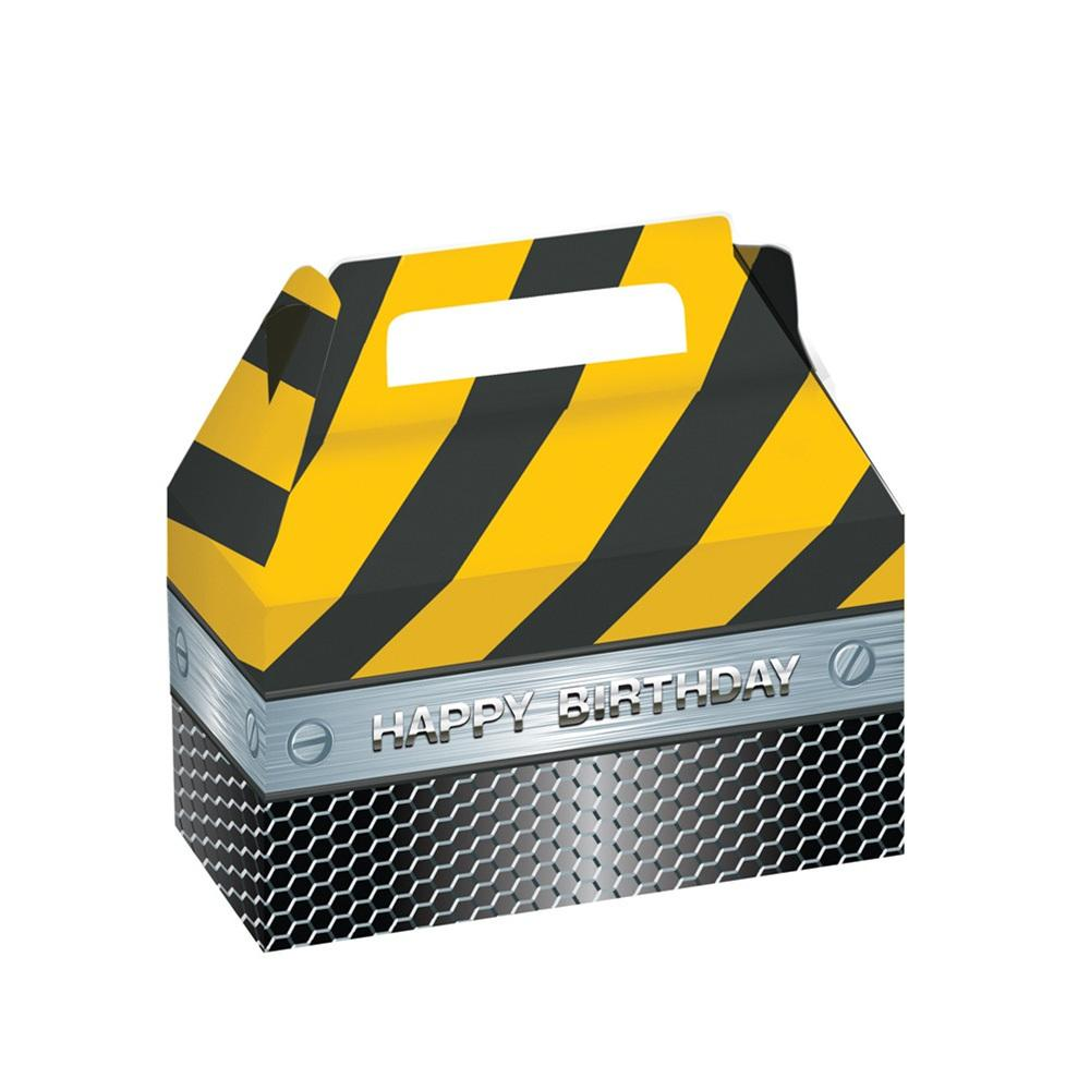 Construction Birthday Zone Foil Treat Boxes Construction Birthday Zone Foil Treat Boxes Yellow Things 2 yellow barn ct