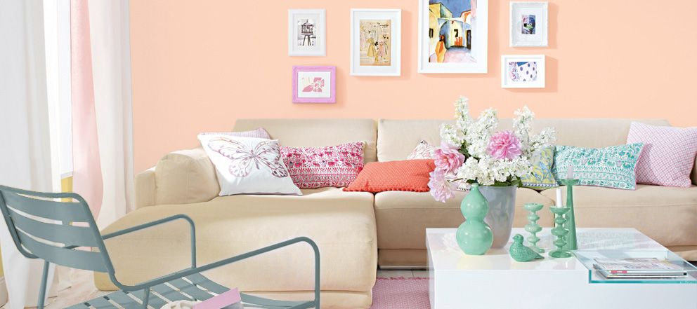 my peach sch ner wohnen farbe house pinterest. Black Bedroom Furniture Sets. Home Design Ideas