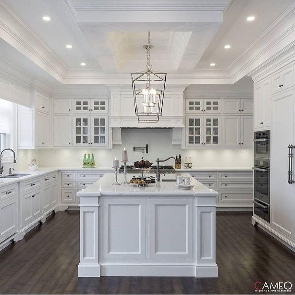 46 Creative White Kitchen Design And Decor Ideas images