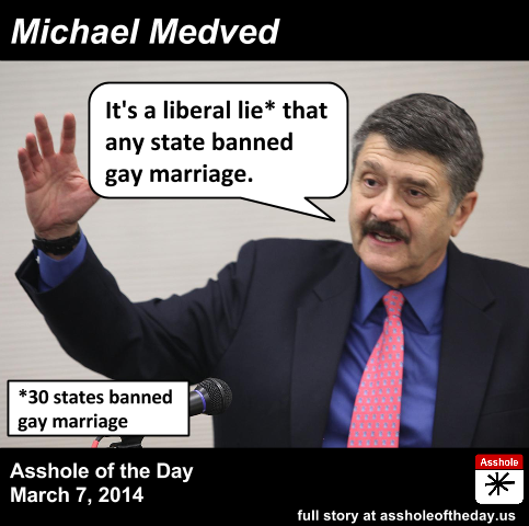 Michael medved gay marriage