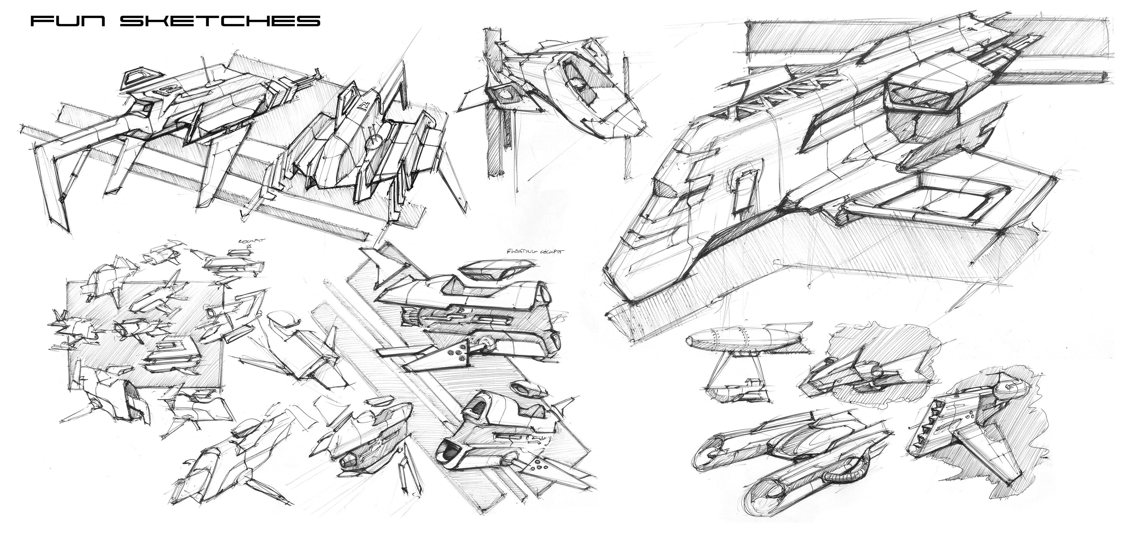 This is a collection of some of my free-time sketching.