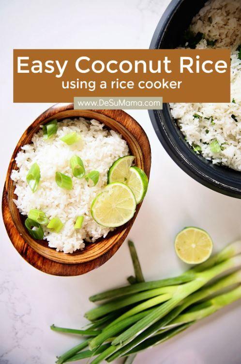Easy Coconut Rice Recipe