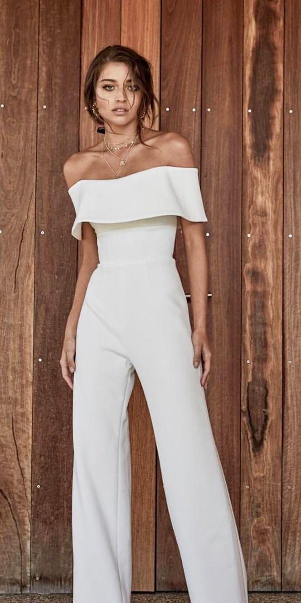 Trendy Wedding Dresses 2018 For Contemporary Bride trendy wedding dresses punsuit straight neckline simple…