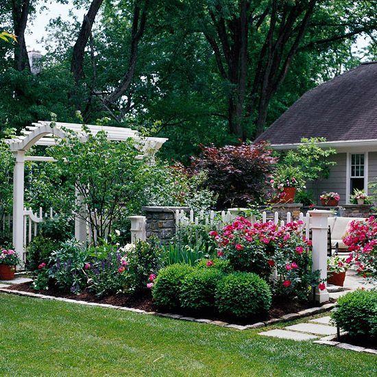 Как сделать уютный сад 67