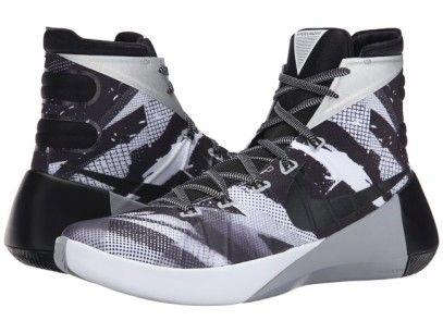 85c9d5c6f577 Nike Hyperdunk 2015 PRM White Wolf Grey Black Basketball Shoes ...