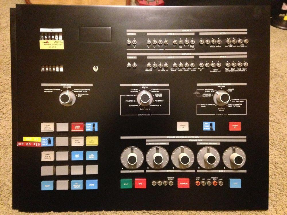 Vintage 1970's IBM Mainframe Computer System 3705 Control