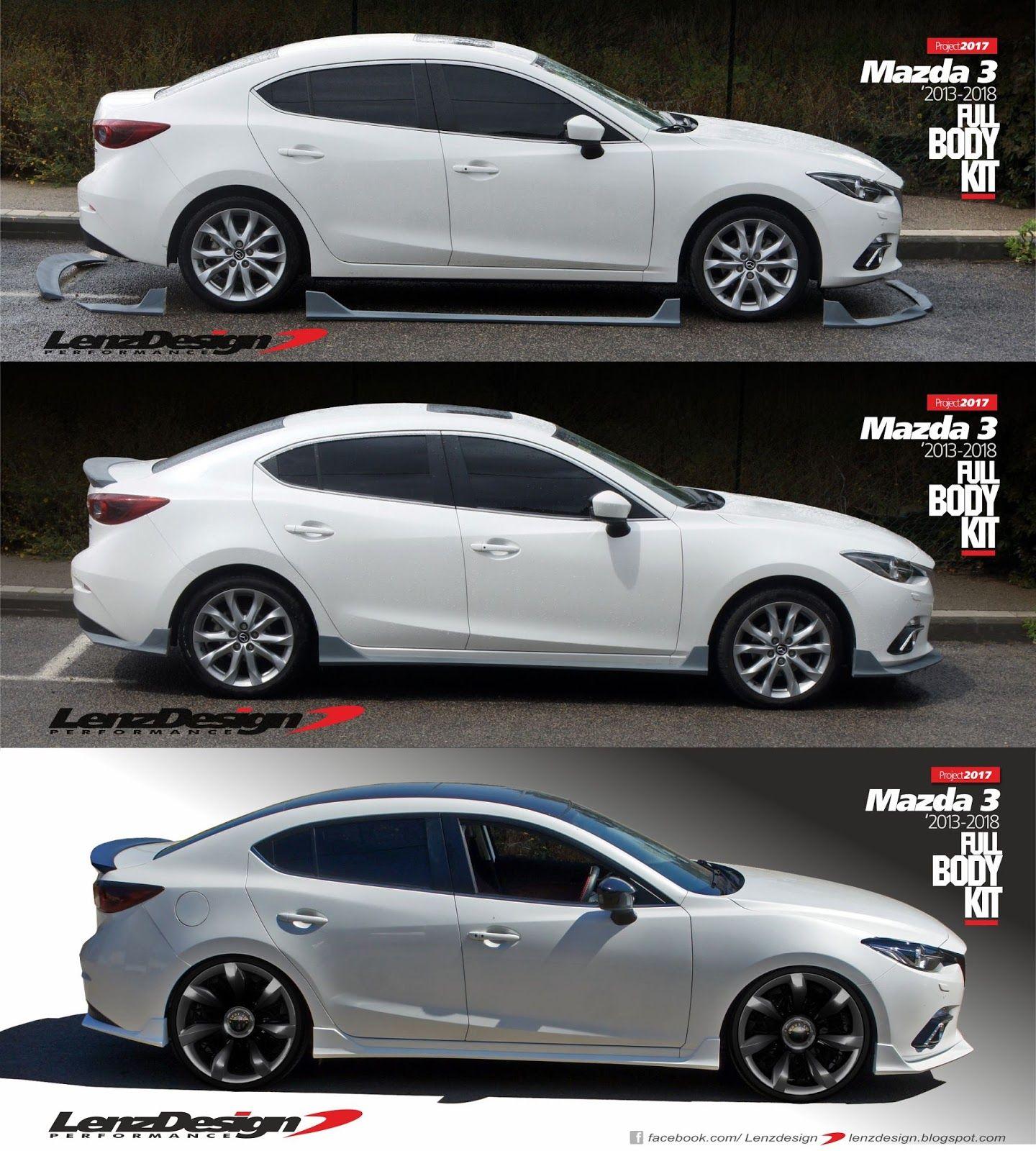Lenzdesign Car Tuning Custom Project Mazda 3 Sedan Mazda 3