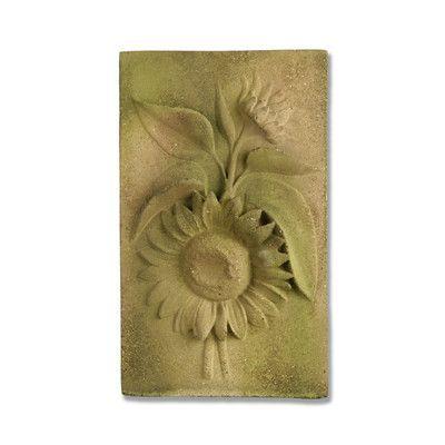 OrlandiStatuary Sunflower Wall Decor