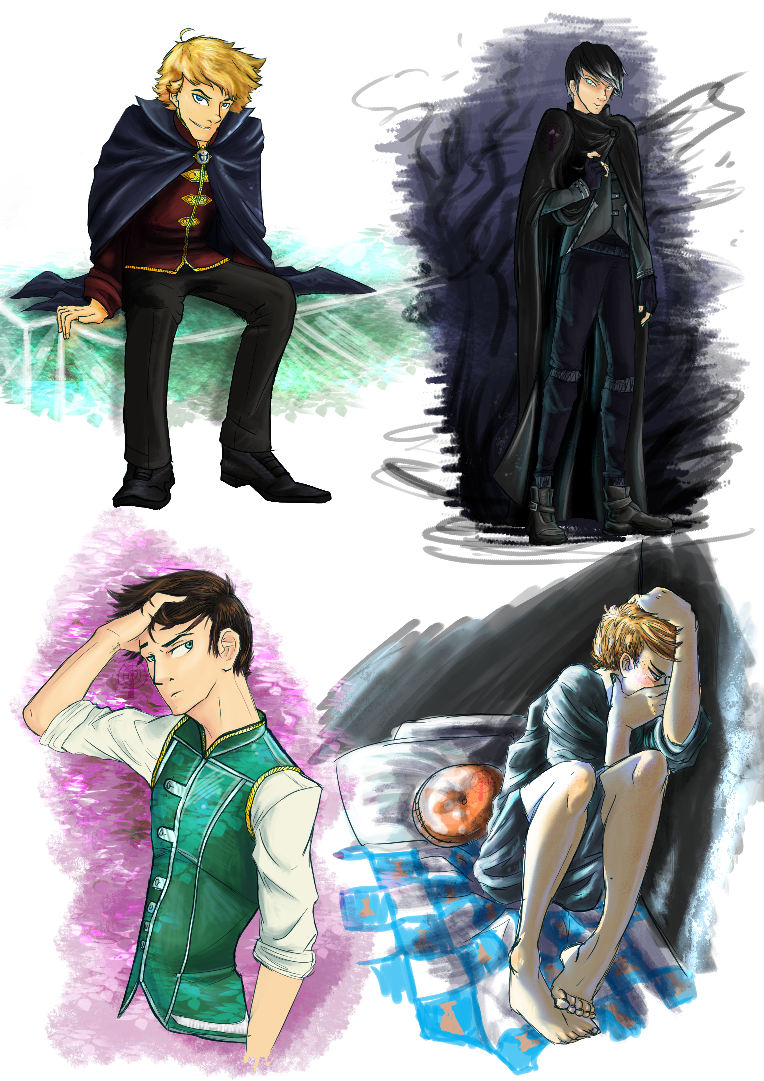 The Boys From The Keeper Of The Lost Cities Series In All Of Their Respective Dark Sides Lost City The Best Series Ever Best Series