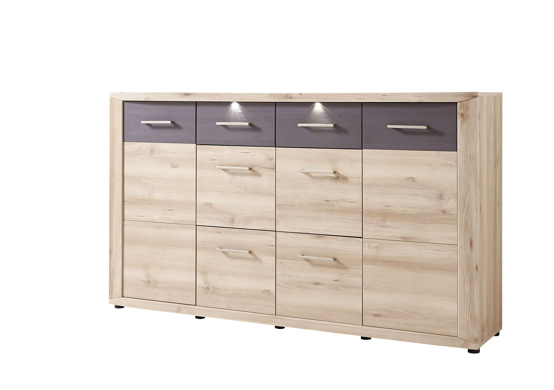 kommode buche hell grau struktur woody 22 00912 mdf modern jetzt bestellen unter https. Black Bedroom Furniture Sets. Home Design Ideas