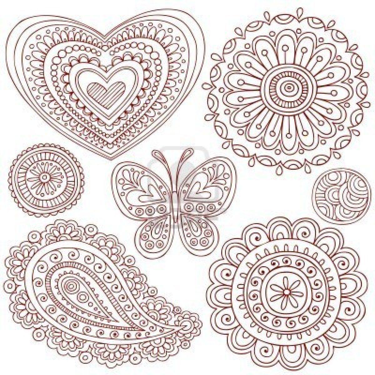 Patrones para bordar | Embroidery, Mandala and Patrones