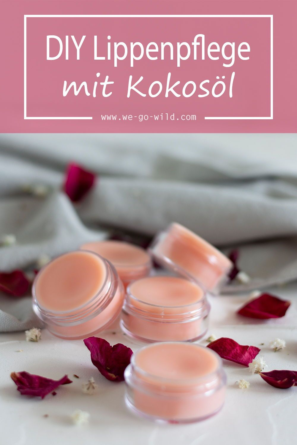 Photo of Make lip balm yourself in just 10 minutes! – WE GO WILD