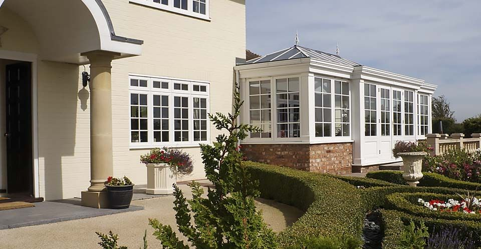 One of our more traditional #Georgian styled #conservatories from Foxfurd