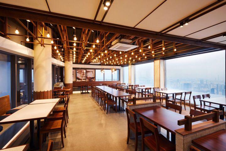 Attrayant Cheil Jemyunso Restaurant By CJ Foodville, N Seoul Tower / Seoul U2013 Korea