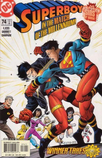 SUPERBOY #74, DC COMICS, 2.000, USA