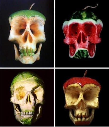 skull carvings aren't just for apples