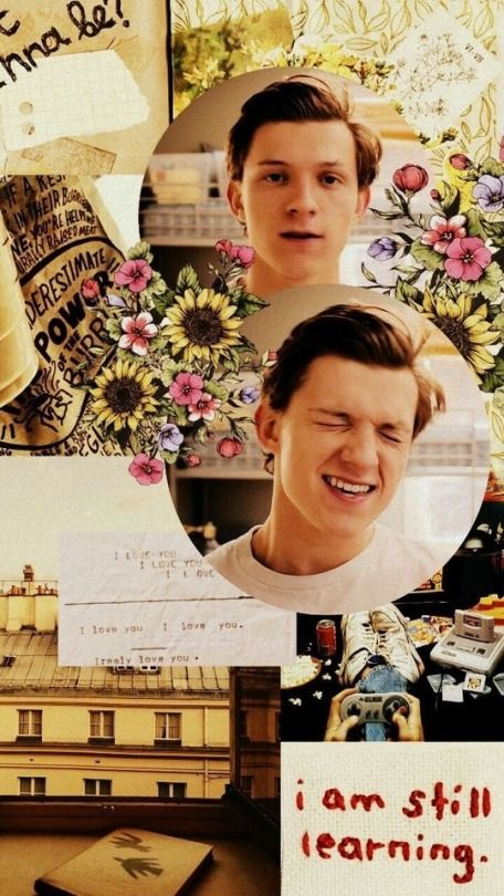 Pin by tia on Aesthetic wallpapers Tom holland spiderman