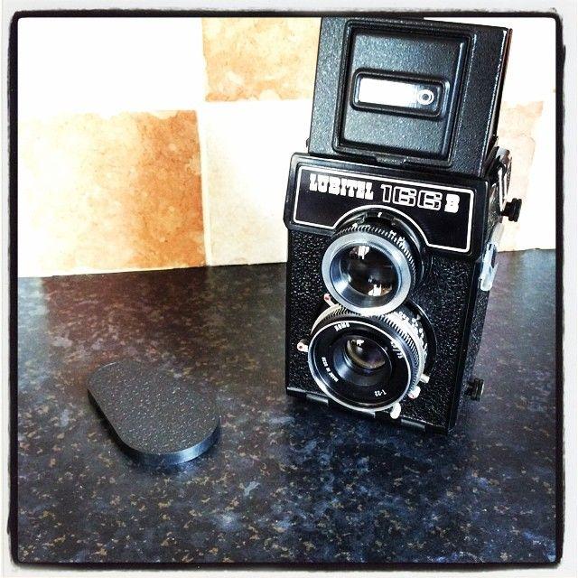 My Lubitel 166B, A soviet Medium Format TLR  camera