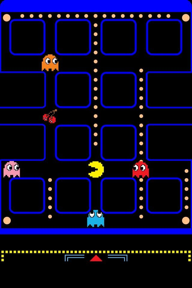 Elegant PAC Man Wallpaper. #2.