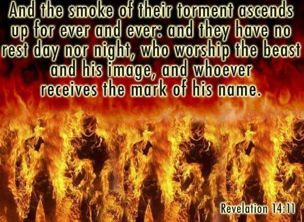 "Revelation 20:15 (KJV): ""And whosoever was not found written in the book of life was cast into the lake of fire."" Description from pinterest.com. I searched for this on bing.com/images"
