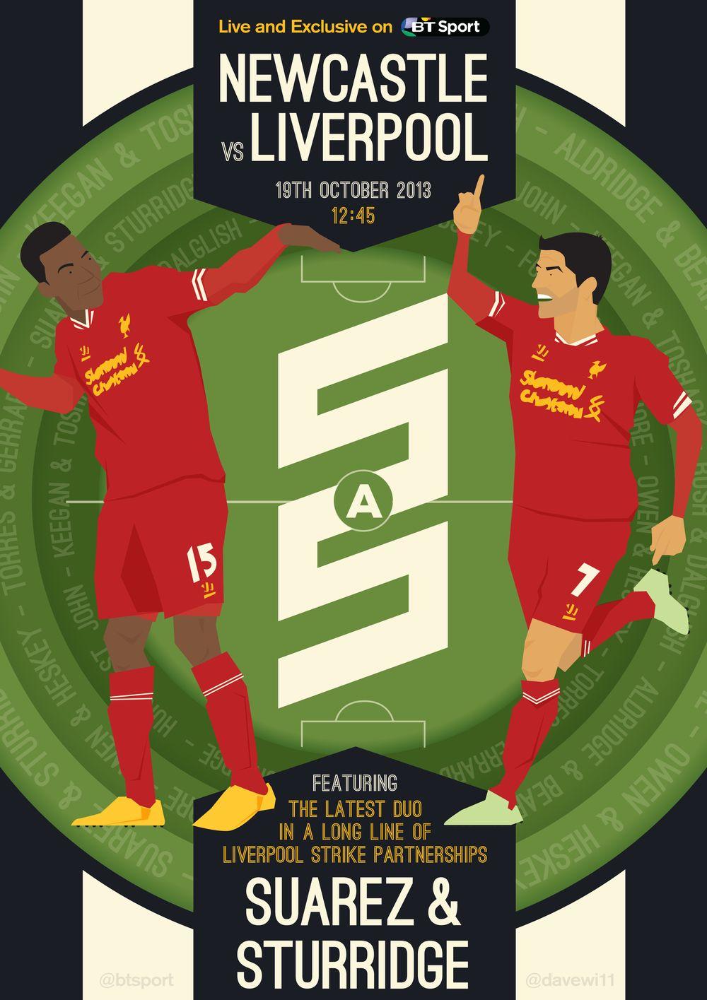 NEWCASTLE v LIVERPOOL Poster.jpg Liverpool football club