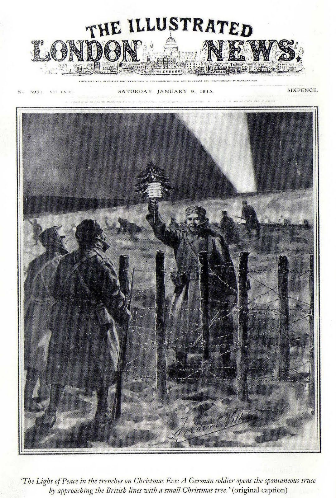 the christmas truce of christmas 1914 essay Why did the christmas truce become important conclusion an historical event in 25 december of 1914 many soldiers of both sides (germans and british) went to no man's land to exchange gifts and play football.