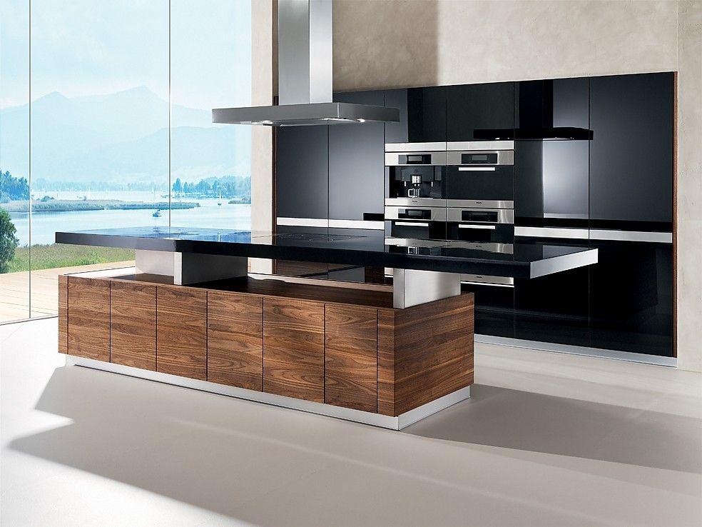 designer k chen mit insel sauna pinterest k che k chen design und. Black Bedroom Furniture Sets. Home Design Ideas