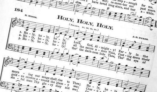 post on adding a hymn study...read this, already have the