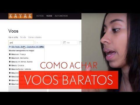 COMO COMPRAR PASSAGENS AÉREAS BARATAS - YouTube
