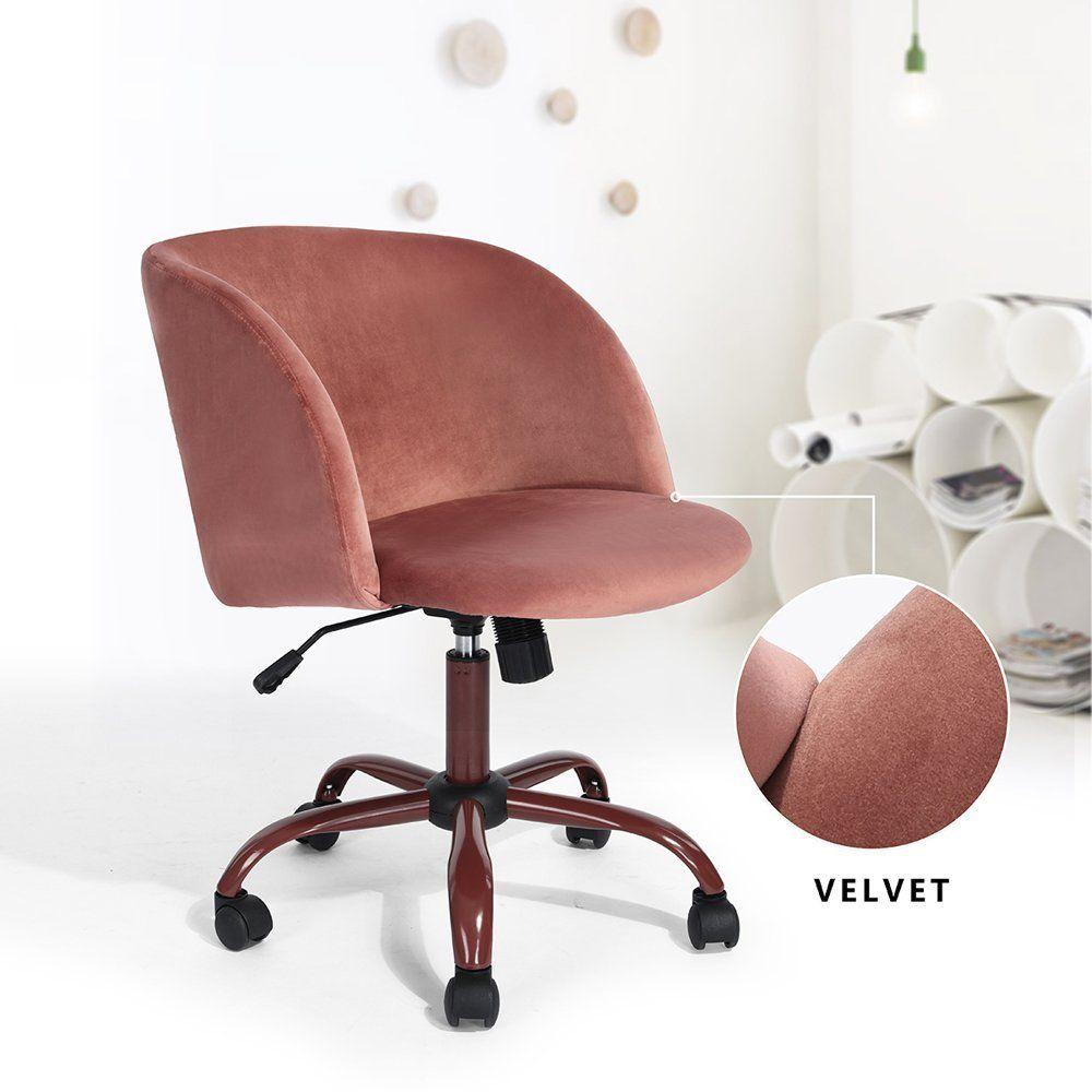 Amazon Com Modern Velvet Accent Living Room Chair Upholstered