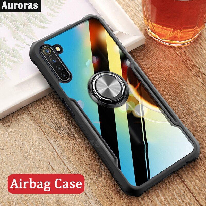 Auroras For Realme 6 Pro Case Anti Fall Airbag Case Shockproof Clear With Ring Soft Frame Cover For Realme 6 Case In 2020 Phone Cases 6 Case Case