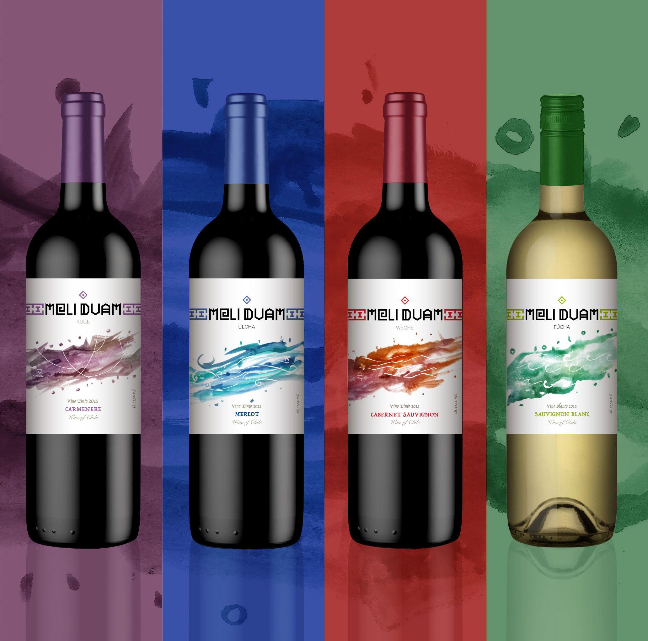 Meli Duam Wine Packaging Design On Behance Wine Packaging Design Wine Packaging Packaging Design