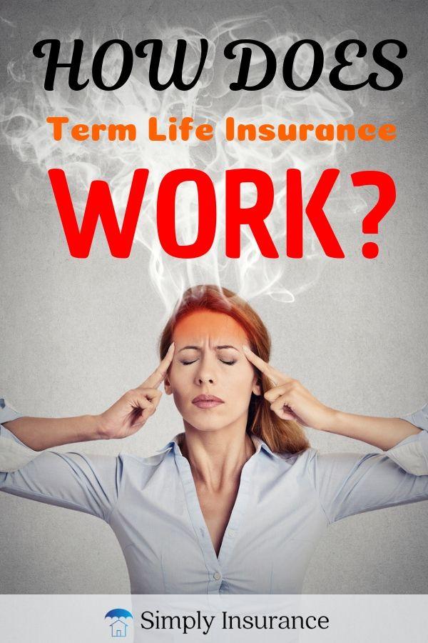 How Does Term Life Insurance Work? | Term life, Term life ...