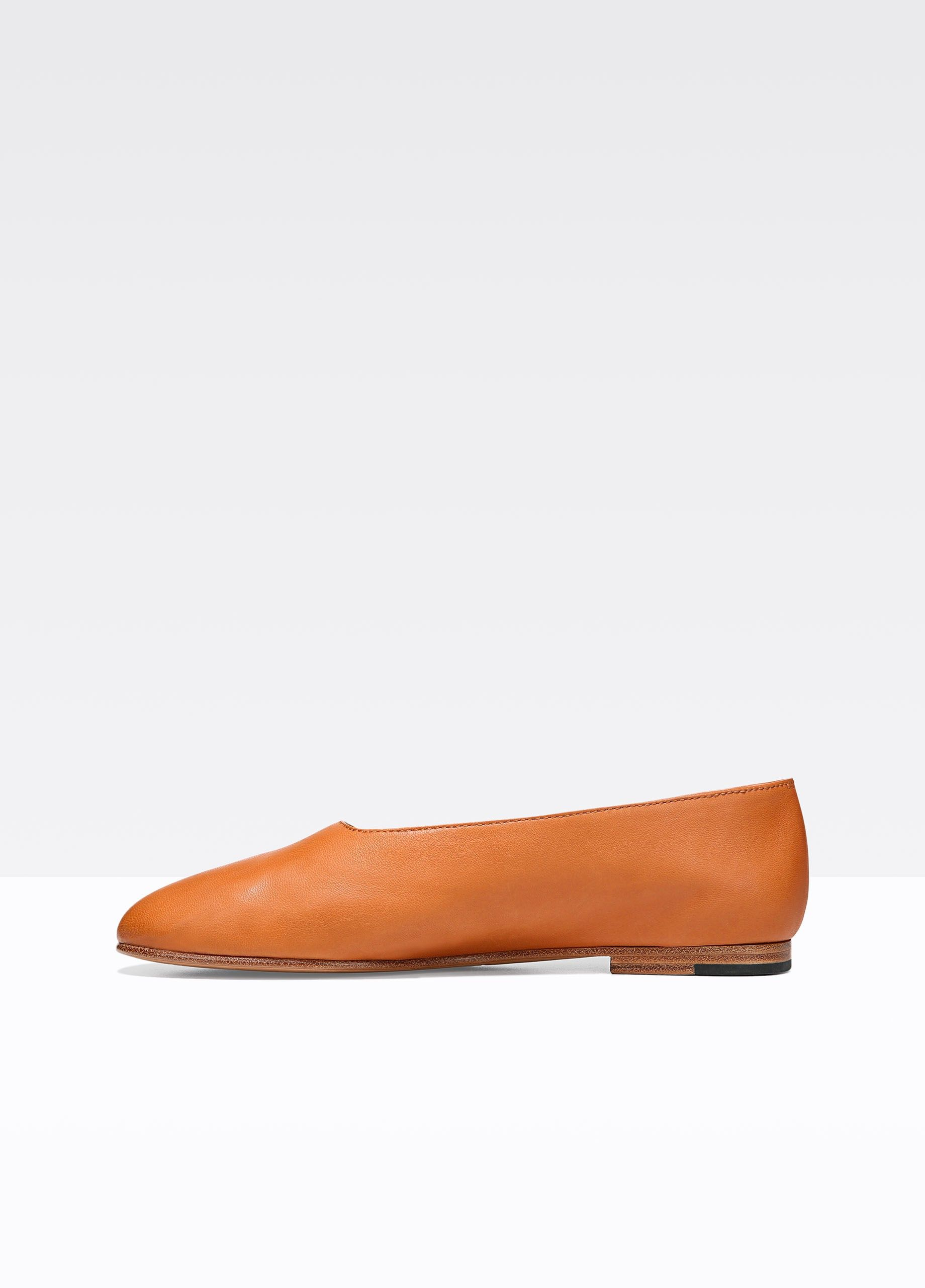 4d0a147f9 VINCE Maxwell Leather Flat - Saddle Tan. #vince #shoes #all | Vince ...