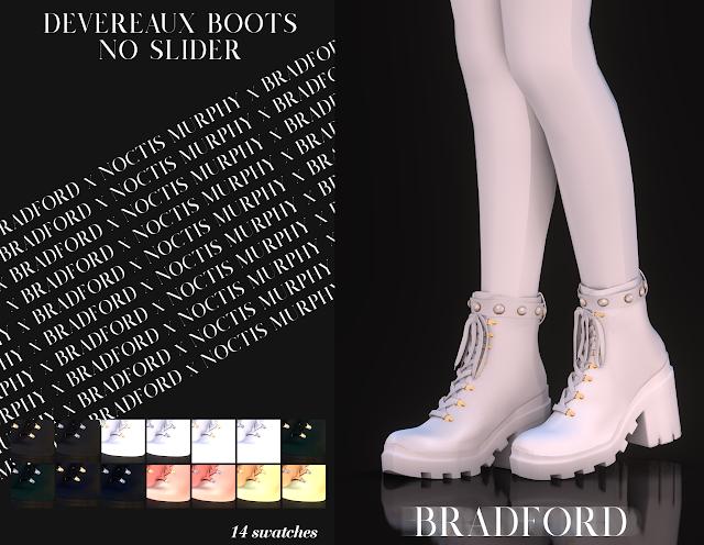Devereaux Boots [No Slider Version]